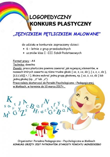 Logopedyczny Konkurs Plastyczny