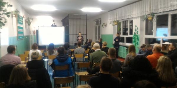 Spotkanie w Szkole Muzycznej w Mońkach